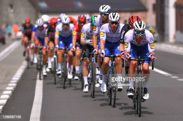 Iljo Keisse of Belgium and Team Deceuninck - Quick-Step / Peloton / during the 41st Tour de Wallonie 2020, Stage 1 a 187km stage from Soignies to...