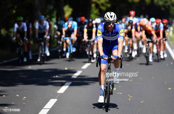 Iljo Keisse of Belgium and Team Quick-Step Floors / during the 33rd Deutschland Tour 2018, a 157km stage from Koblenz to Bonn / Deine Tour / on...