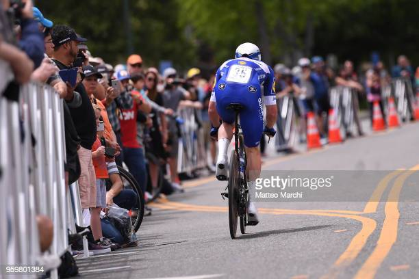 Iljo Keisse of Belgium and Team QuickStep Floors rides during stage four of the 13th Amgen Tour of California 2018 San Jose / Morgan Hill a 347 km...