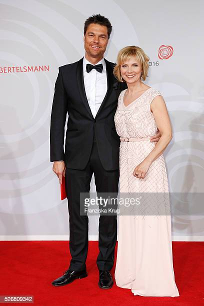 Ilka Essmueller and Boris Buettner attend the Rosenball 2016 on April 30 2016 in Berlin Germany