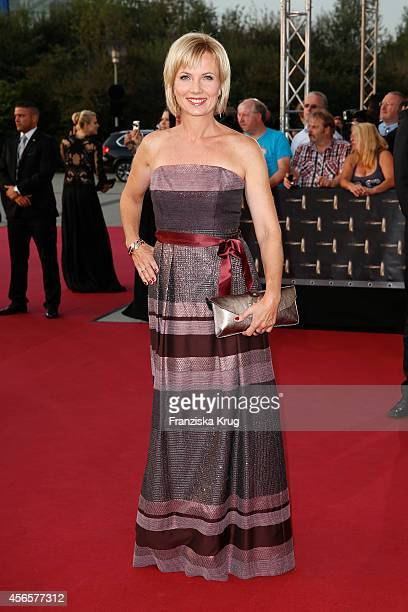 Ilka Essmueller attends the red carpet of the Deutscher Fernsehpreis 2014 on October 02 2014 in Cologne Germany