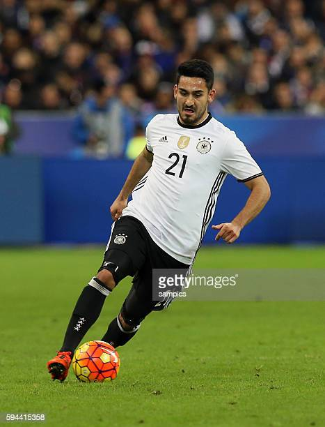 Ilkay Guendogan Gündogan Fussball Freundschaftsspiel Frankreich Deutschland Football friendly match national team France Germany