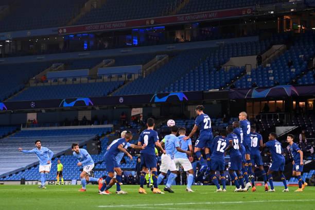 GBR: Manchester City v FC Porto: Group C - UEFA Champions League
