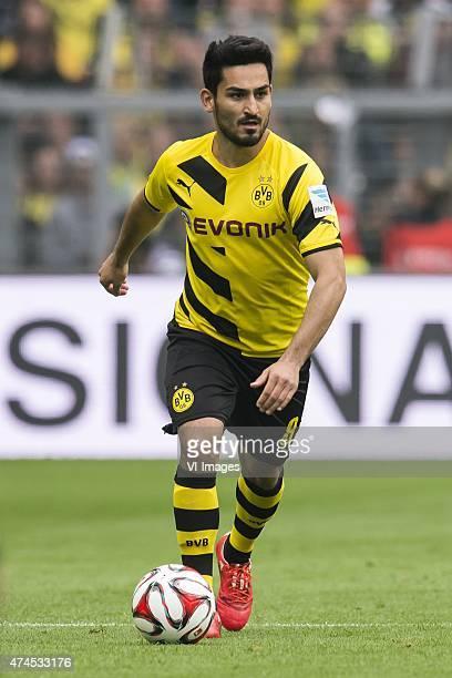 Ilkay Gundogan of Borussia Dortmund during the Bundesliga match between Borussia Dortmund and Werder Bremen on May 23 2015 at the Signal Iduna Park...