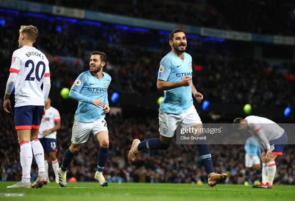 Manchester City v AFC Bournemouth - Premier League : News Photo