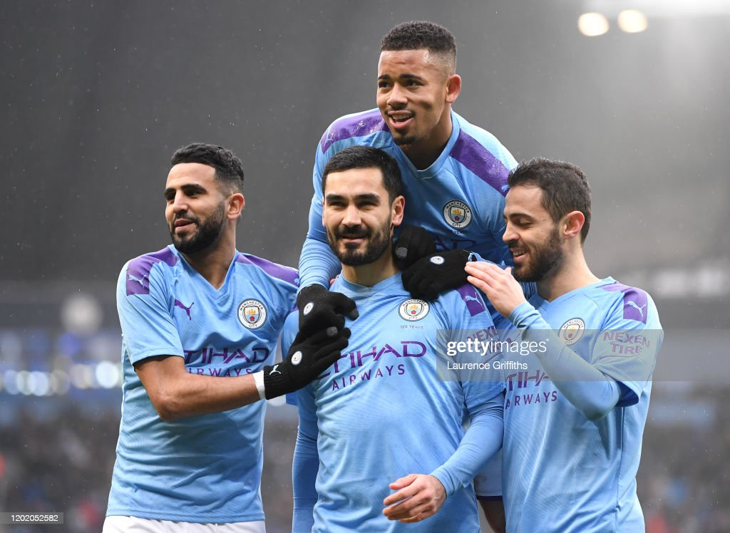 Manchester City v Fulham FC - FA Cup Fourth Round : News Photo