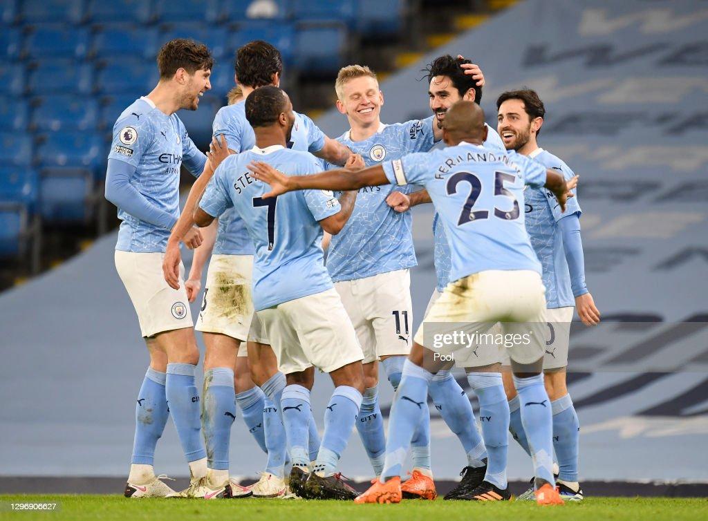 Manchester City v Crystal Palace - Premier League : ニュース写真