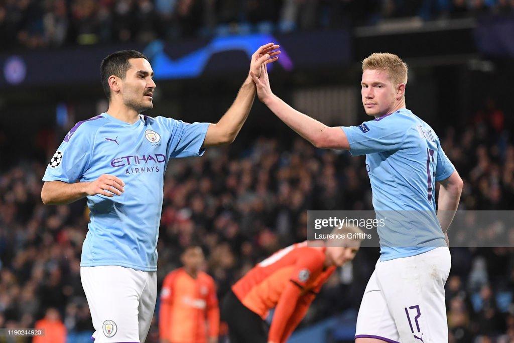 Manchester City v Shakhtar Donetsk: Group C - UEFA Champions League : ニュース写真