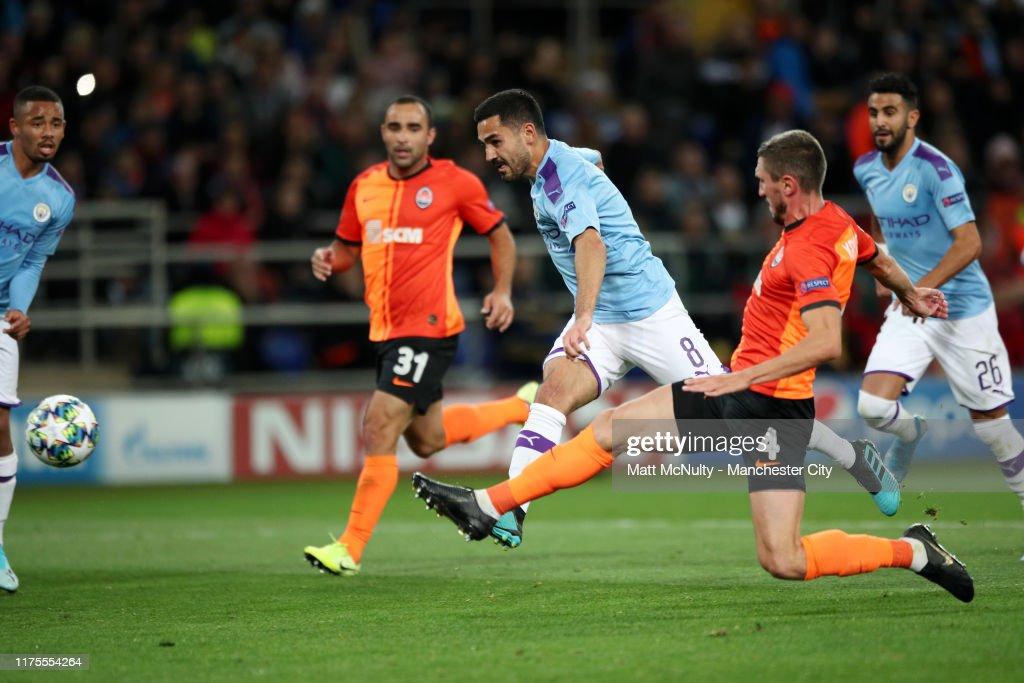 Shakhtar Donetsk v Manchester City: Group C - UEFA Champions League : News Photo