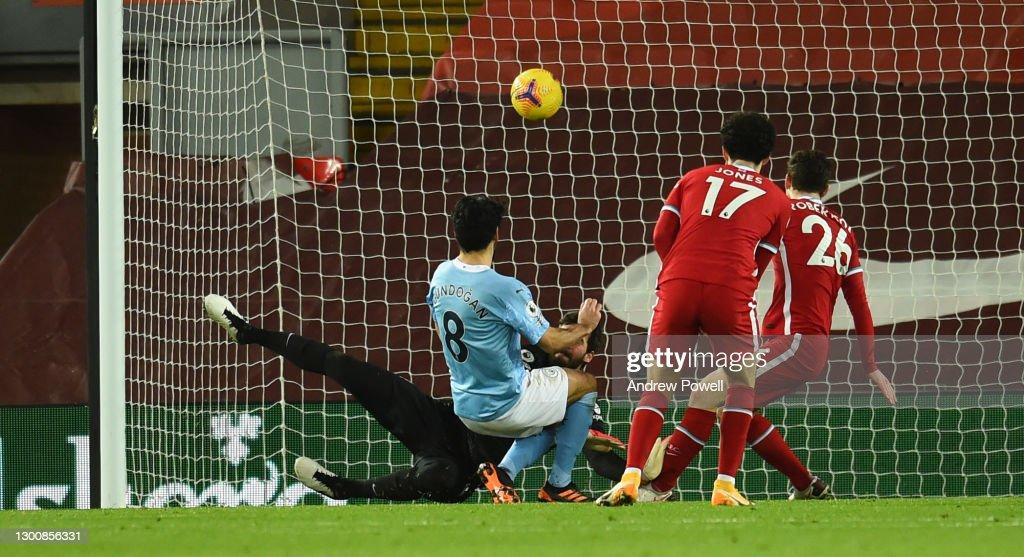 Liverpool v Manchester City - Premier League : ニュース写真