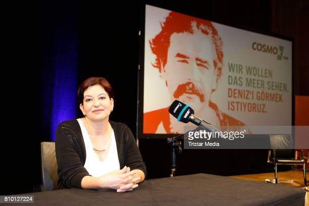 Ilkay Yuecel sister of Denzi Yuecel during the Evening Of Solidarity With Deniz Yuecel on July 6 2017 in Cologne Germany