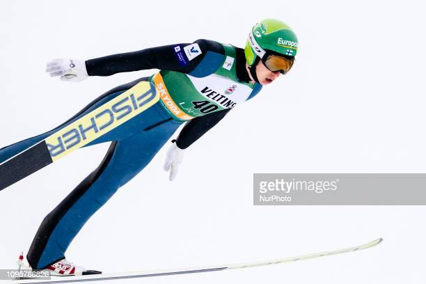 Ilkka Herola competes during Nordic Combined, PCR/Qualification at Lahti Ski Games in Lahti, Finland on 8 February 2019.