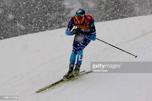 Ilkka Herola competes in the FIS Nordic Combined World Cup, Individual Gundersen , on December 21, 2019 in Ramsau am Dachstein, Austria.