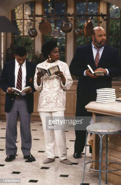 AIR Ill Will Episode 18 Pictured Alfonso Ribeiro as Carlton Banks Janet Hubert as Vivian Banks James Avery as Philip Banks Photo by Mike Ansell/NBCU...