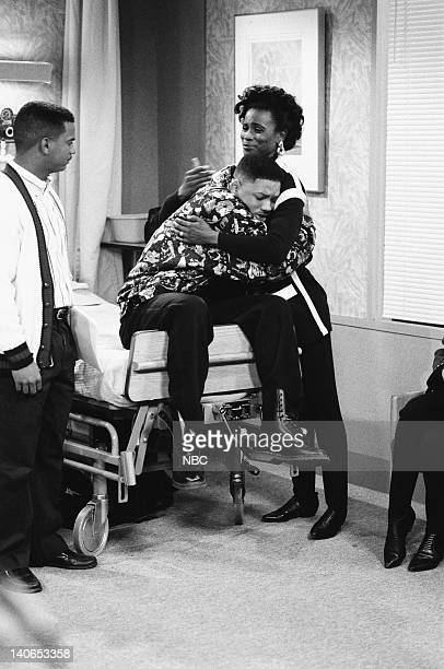 AIR Ill Will Episode 18 Pictured Alfonso Ribeiro as Carlton Banks Will Smith as William 'Will' Smith Janet Hubert as Vivian Banks Photo by Mike...