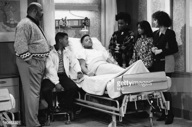 AIR Ill Will Episode 18 Pictured James Avery as Philip Banks Alfonso Ribeiro as Carlton Banks Will Smith as William 'Will' Smith Janet Hubert as...