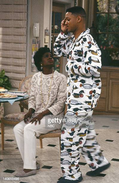 AIR Ill Will Episode 18 Pictured Janet Hubert as Vivian Banks Will Smith as William 'Will' Smith Photo by Mike Ansell/NBCU Photo Bank