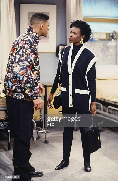 AIR Ill Will Episode 18 Pictured Will Smith as William 'Will' Smith Janet Hubert as Vivian Banks Photo by Mike Ansell/NBCU Photo Bank