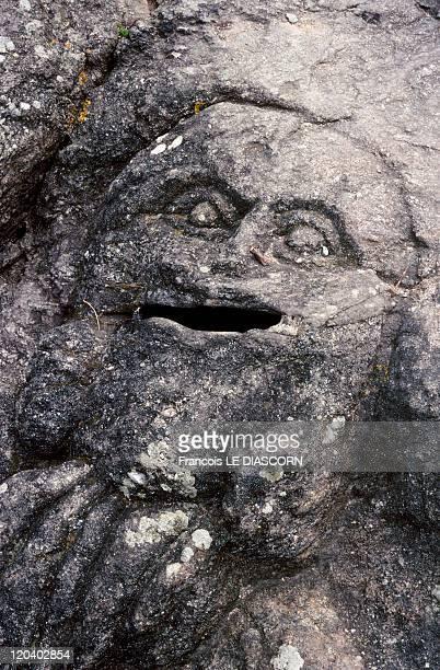 Ille et Vilaine in Vilaine France Sculpted rocks of Rotheneuf