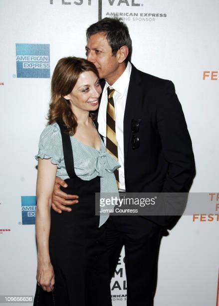 Illeana Douglas and Jeff Goldblum during 5th Annual Tribeca Film Festival 'Pittsburgh' Premiere at Loews Cinema at Lincoln Center in New York City...
