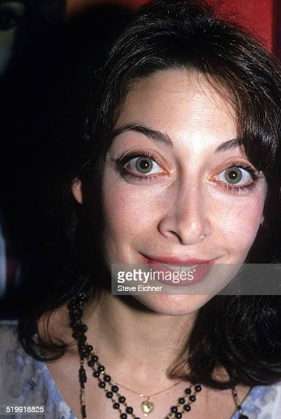 Illeana Douglas at Search and Destroy party at Z Bar New York New York April 19 1994