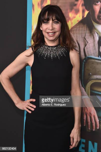 Illeana Douglas attends the Screening Of HBO's 'The Zen Diaries Of Garry Shandling' at Avalon on March 14 2018 in Hollywood California
