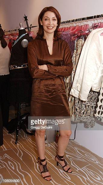 Illeana Douglas during Cynthia Rowley Opens Her New Store In Los Angeles at Cynthia Rowley Store in Los Angeles California United States
