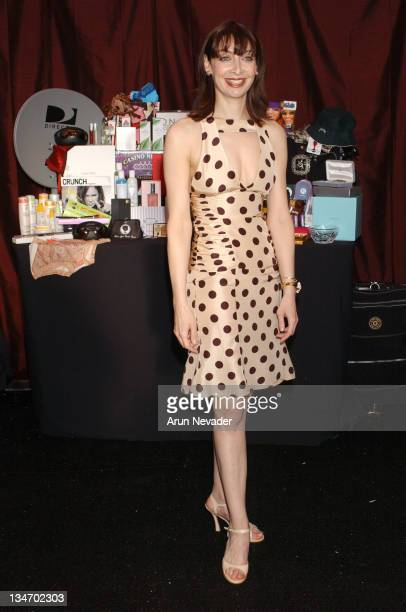 Illeana Douglas during The 18th Annual IFP Independent Spirit Awards Official Talent Gift Bag Produced by On 3 Productions at Santa Monica Beach in...