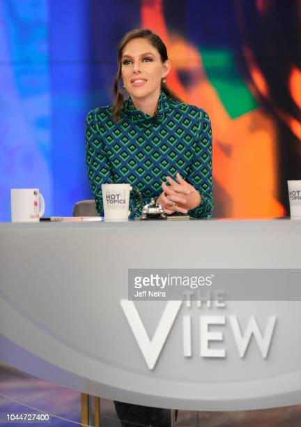 """Illeana Douglas is the guest, Tuesday, 10/2/18 on Walt Disney Television via Getty Images's """"The View."""" """"The View"""" airs Monday-Friday on the Walt..."""