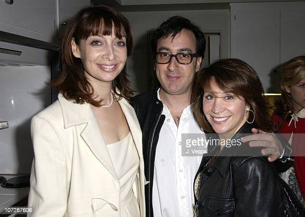 Illeana Douglas Michael Panes and Cheri Oteri during Target Introduces Cynthia Rowley and Ilene Rosenzweig's New Home Collection Swell Party at...