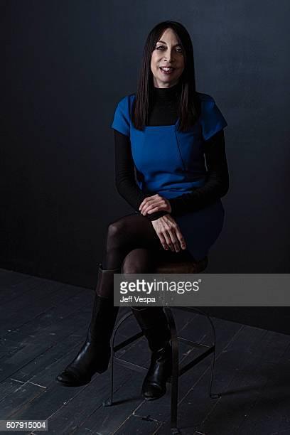 Illeana Douglas of 'The Skinny' poses for a portrait at the 2016 Sundance Film Festival on January 25 2016 in Park City Utah