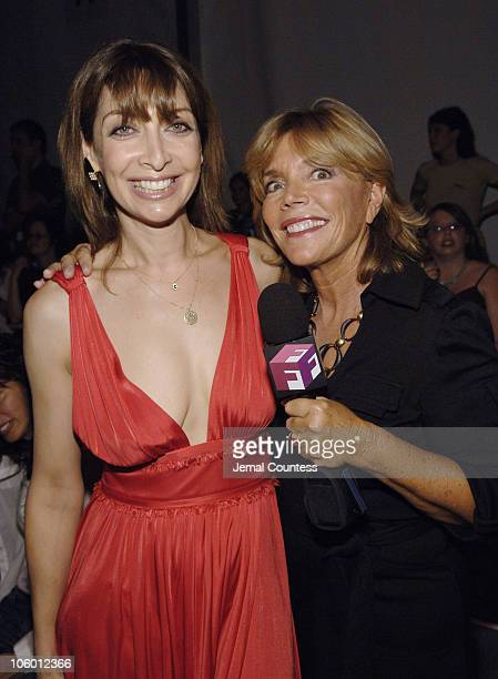 Illeana Douglas with Judy Licht of Full Frontal Fashion