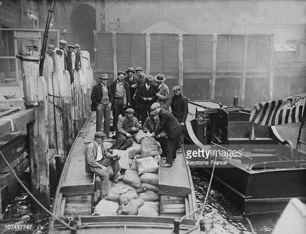 Illegal Liquor Seized By Customs Officers Of New Jersey On October 7Th 1929