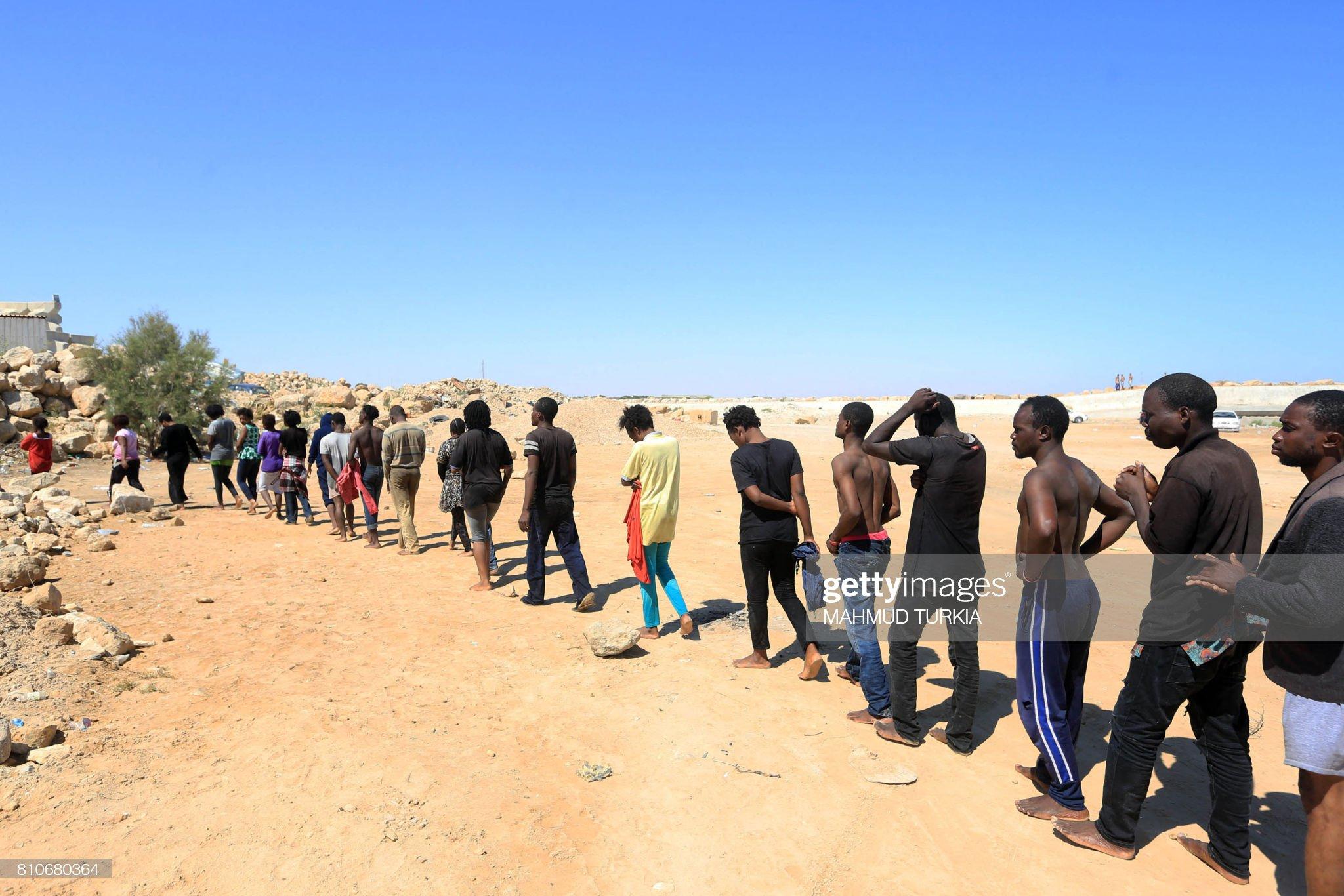 LIBYA-EUROPE-MIGRANTS : Foto di attualità