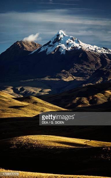 Illiniza Norte Volcano Cotopaxi National Park Ecuador