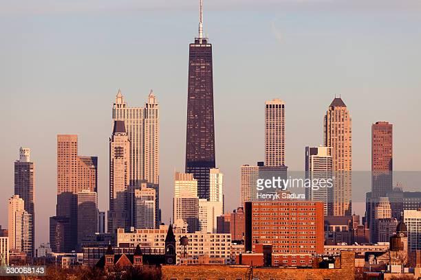 USA, Illinois, Chicago, City skyline