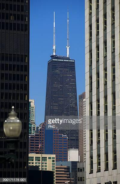 USA, Illinois, Chicago, John Hancock Building
