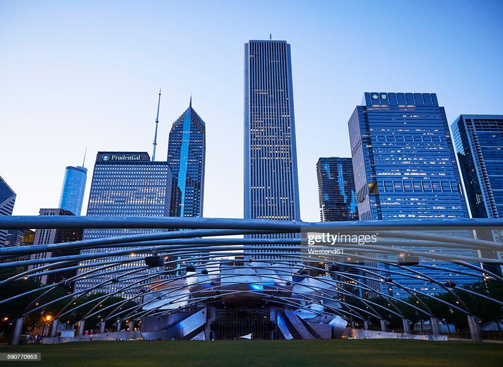 USA, Illinois, Chicago, : Stock Photo