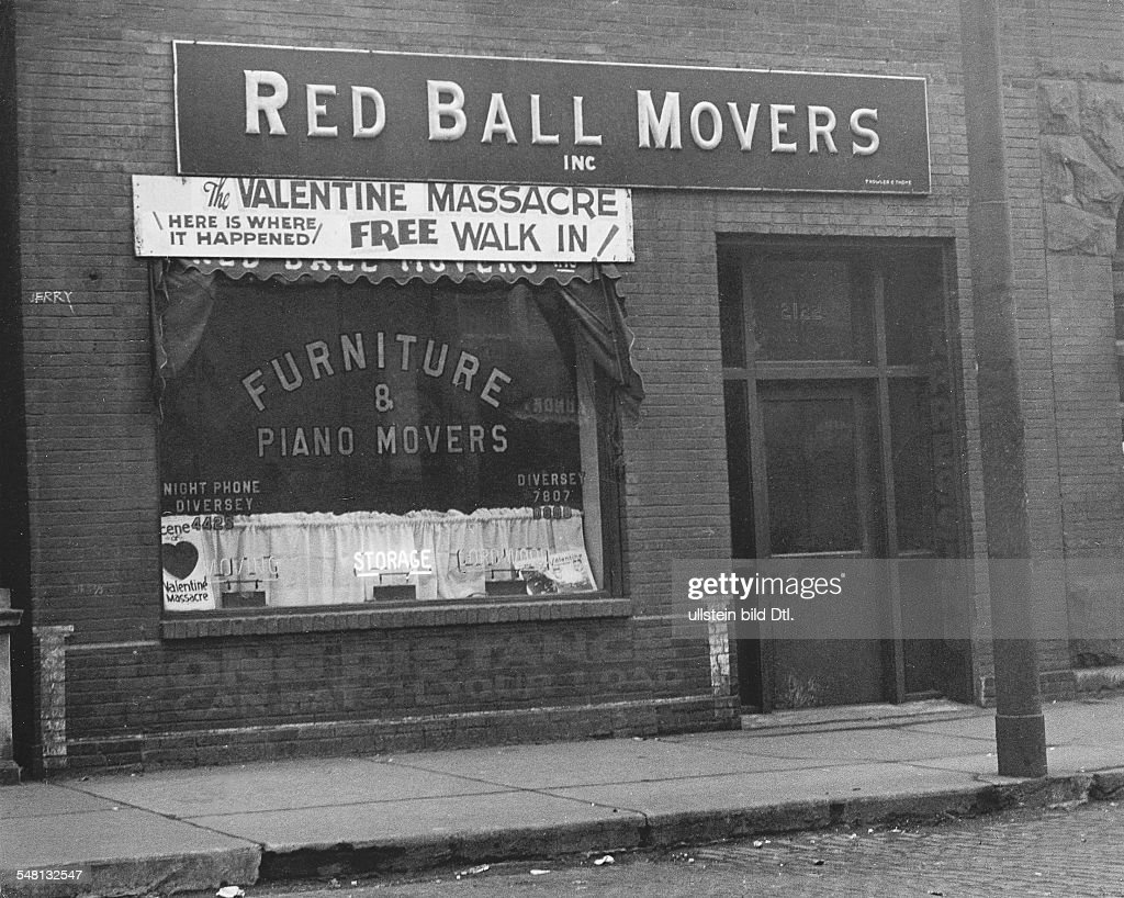 USA Illinois Chicago Shop Where The Saint Valentineu0027s Day Massacre Occured  1934 Photographer Martin Munkacsi Published