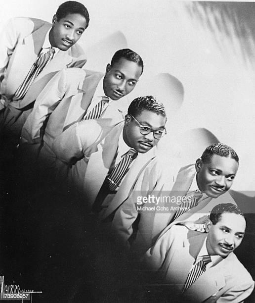 1952 Illinois Chicago Soul Stirrers LR Sam Cooke RB Robinson Paul Foster SR Crain JJ Farley