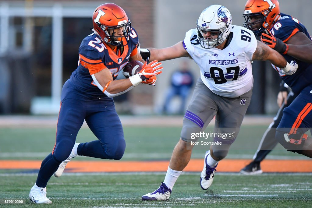 COLLEGE FOOTBALL: NOV 25 Northwestern at Illinois