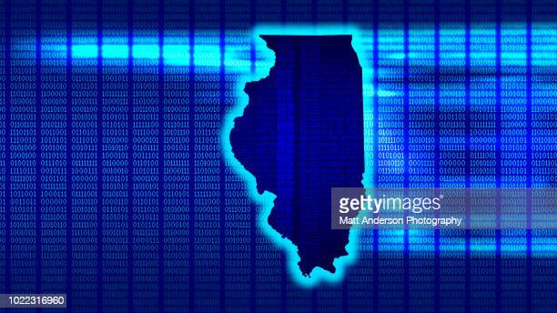 illinois - state 101010 - electoral college stock pictures, royalty-free photos & images