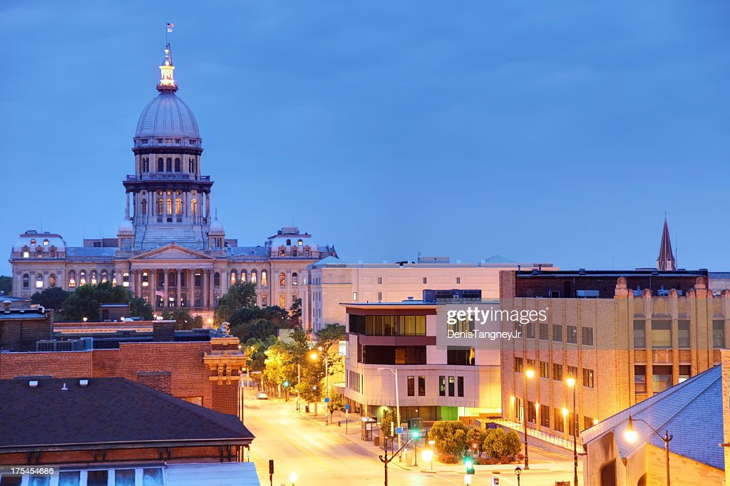 Illinois State Capitol : Stock Photo