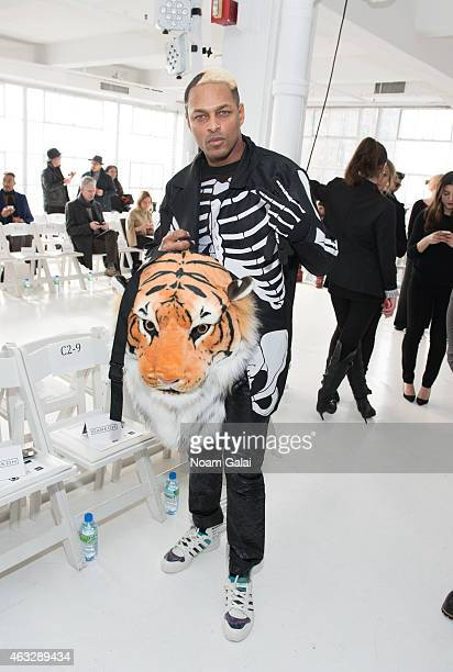 Illmatic Scream attends the Darkoh fashion show during MercedesBenz Fashion Week Fall 2015 at The Designer's Loft on February 12 2015 in New York City