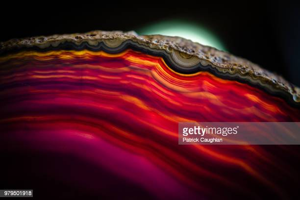 illuminated agate - agate stock pictures, royalty-free photos & images