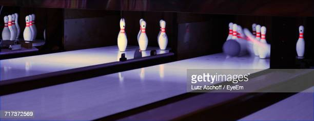 Illuminated Bowling Alley