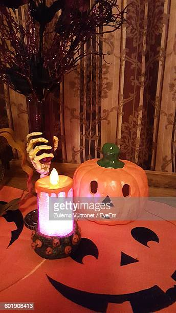 illuminated candle in the dark  - candle in the dark stock pictures, royalty-free photos & images