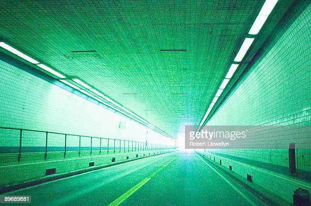 illuminated chesapeake bay bridge tunnel - chesapeake bay bridge tunnel stock photos and pictures