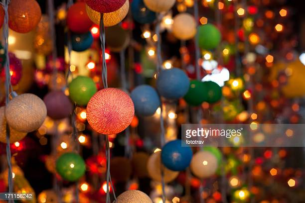 Beleuchtet Dekoration in Bangkok, Thailand