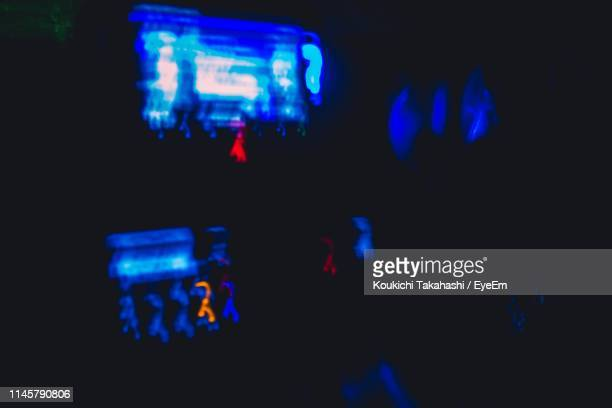 Illuminated Defocused Lighting Equipment In Car